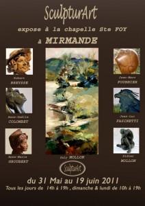 Exposition à Mirmande