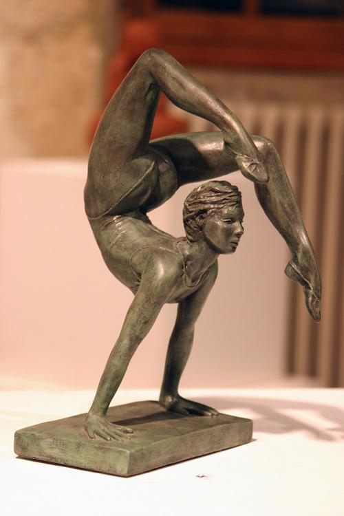 Contorsion : danseuse GRS résine 22 x 15x 10