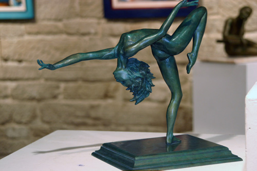 Danseuse GRS : bronze