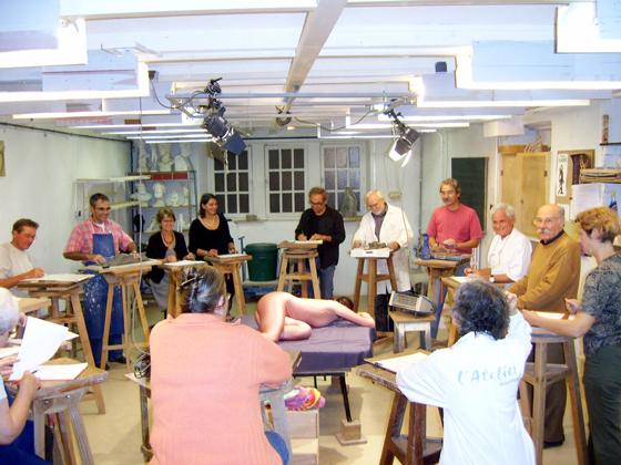 Atelier de Sculpture cours collectif