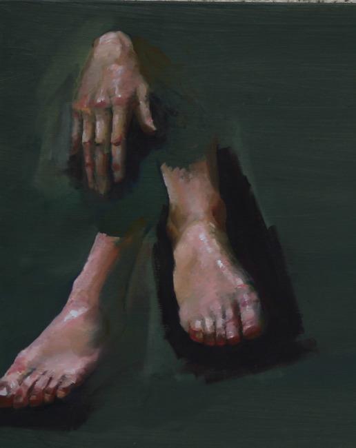 Etude main et pied