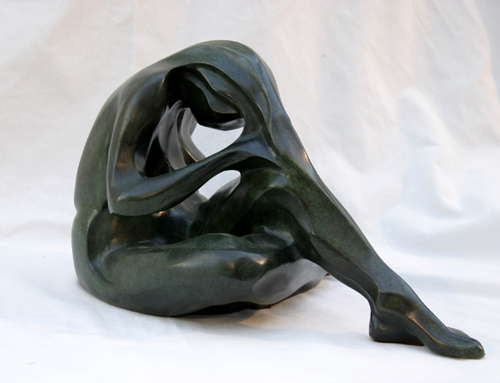 Sculptures en bronzes peinture - Sculptures modernes contemporaines ...