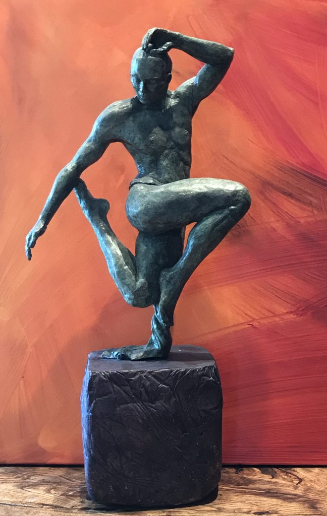 Sculpture d'un danseur